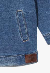 Benetton - JACKET - Mikina na zip - blue denim - 2