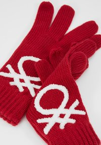 Benetton - Gants - red - 3
