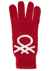 Benetton - Gants - red - 1