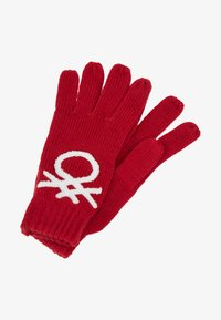 Benetton - Gants - red - 0