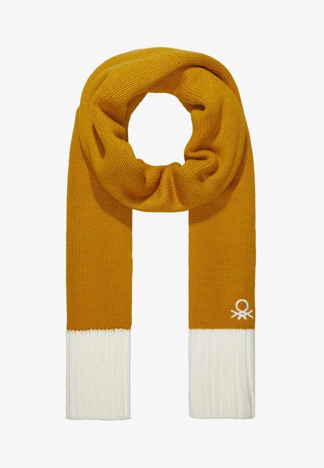 Halsduk - yellow