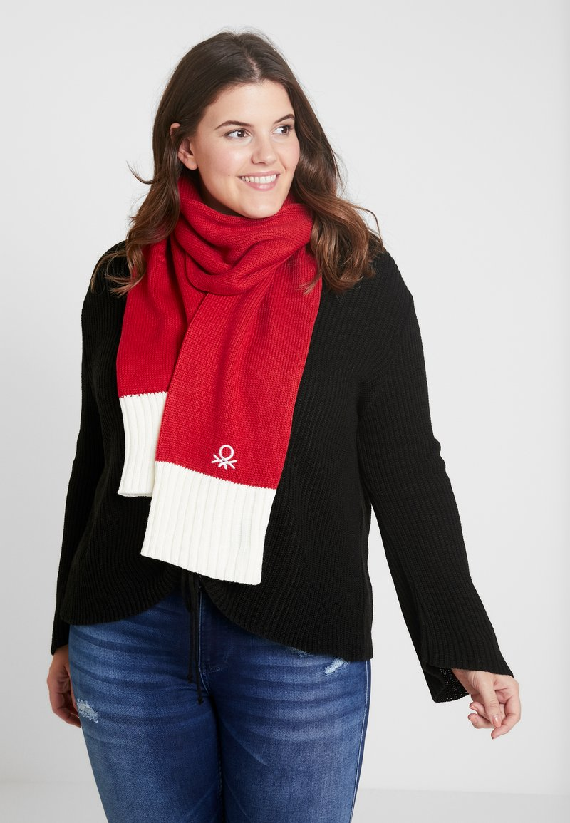 Benetton - Scarf - red