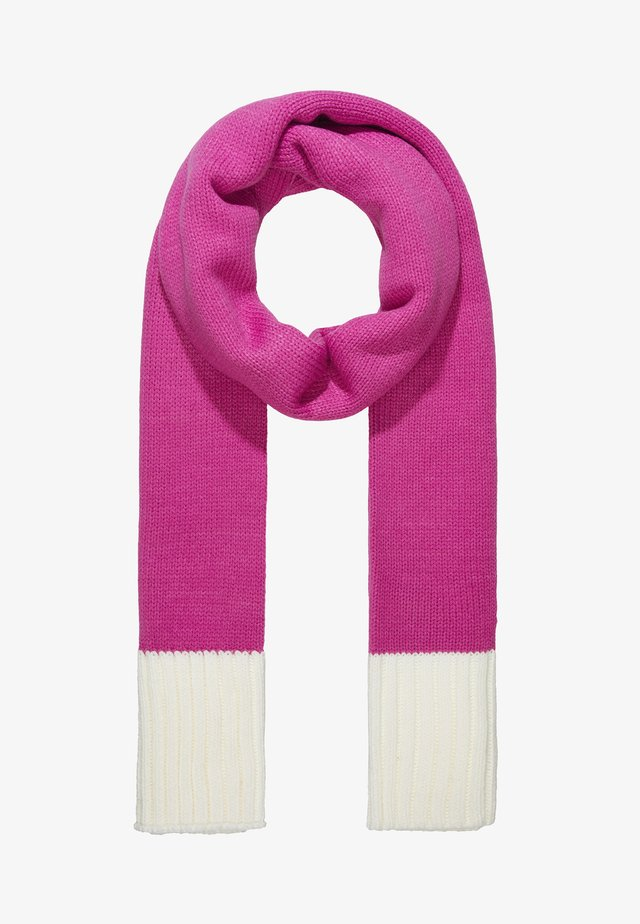 Sjaal - pink/white