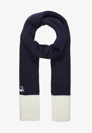 Schal - dark blue/white