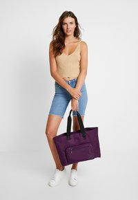Benetton - Tote bag - lilac - 1