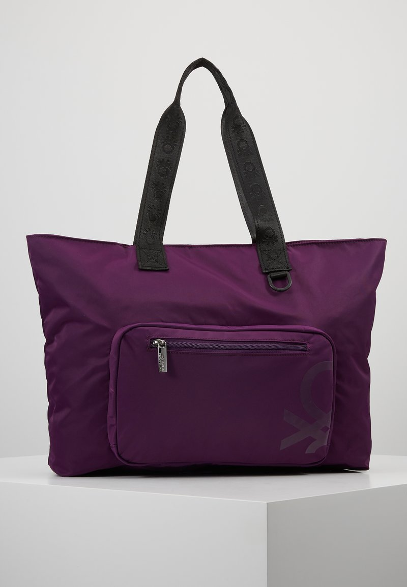 Benetton - Tote bag - lilac