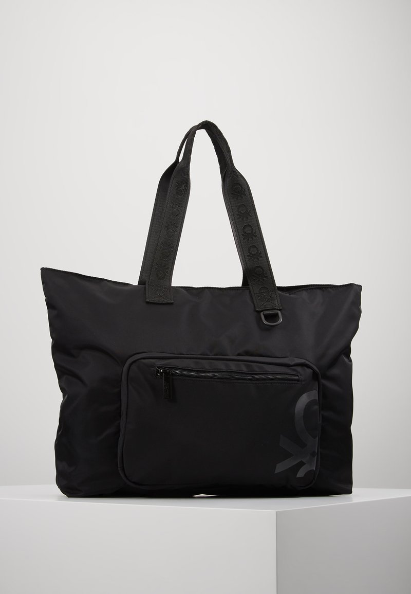 Benetton - Shoppingveske - black