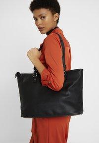 Benetton - Shopping bag - black - 1