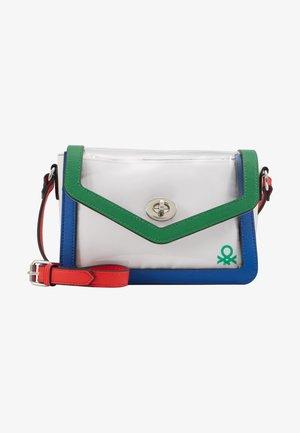 Taška spříčným popruhem - green/blue