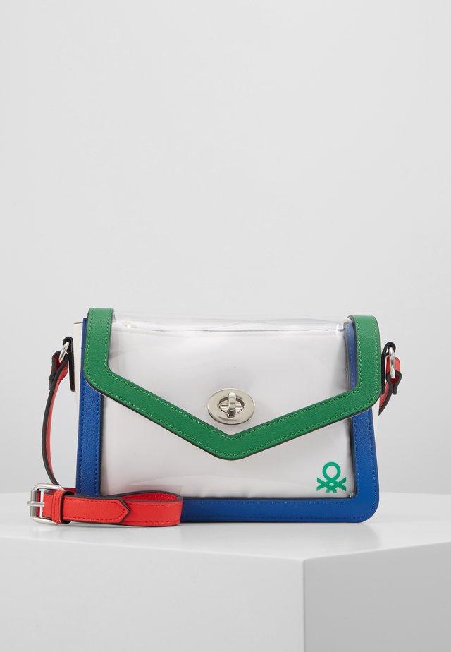 Borsa a tracolla - green/blue