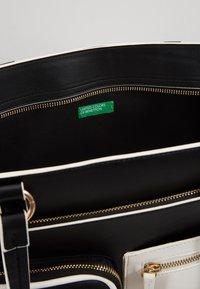 Benetton - Shopping Bag - black/white - 5