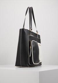 Benetton - Shopping Bag - black/white - 4