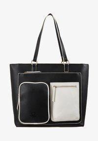 Benetton - Shopping Bag - black/white - 1