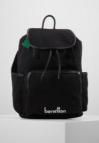 Benetton - KNAPSACK - Plecak - black - 0