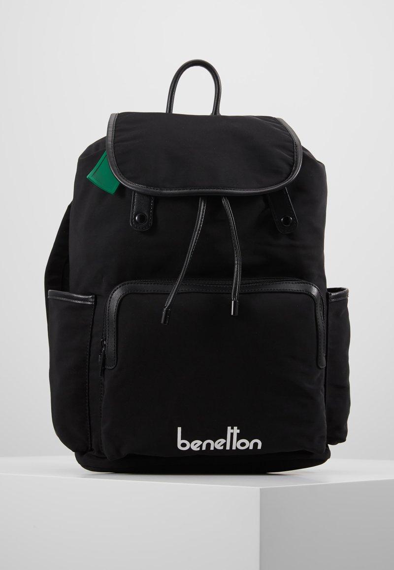 Benetton - KNAPSACK - Plecak - black