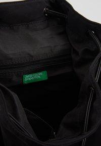 Benetton - KNAPSACK - Plecak - black - 4