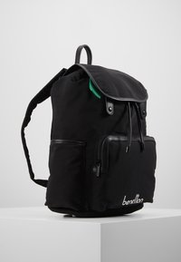 Benetton - KNAPSACK - Plecak - black - 3