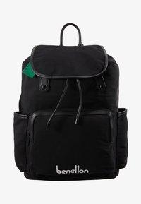 Benetton - KNAPSACK - Plecak - black - 5