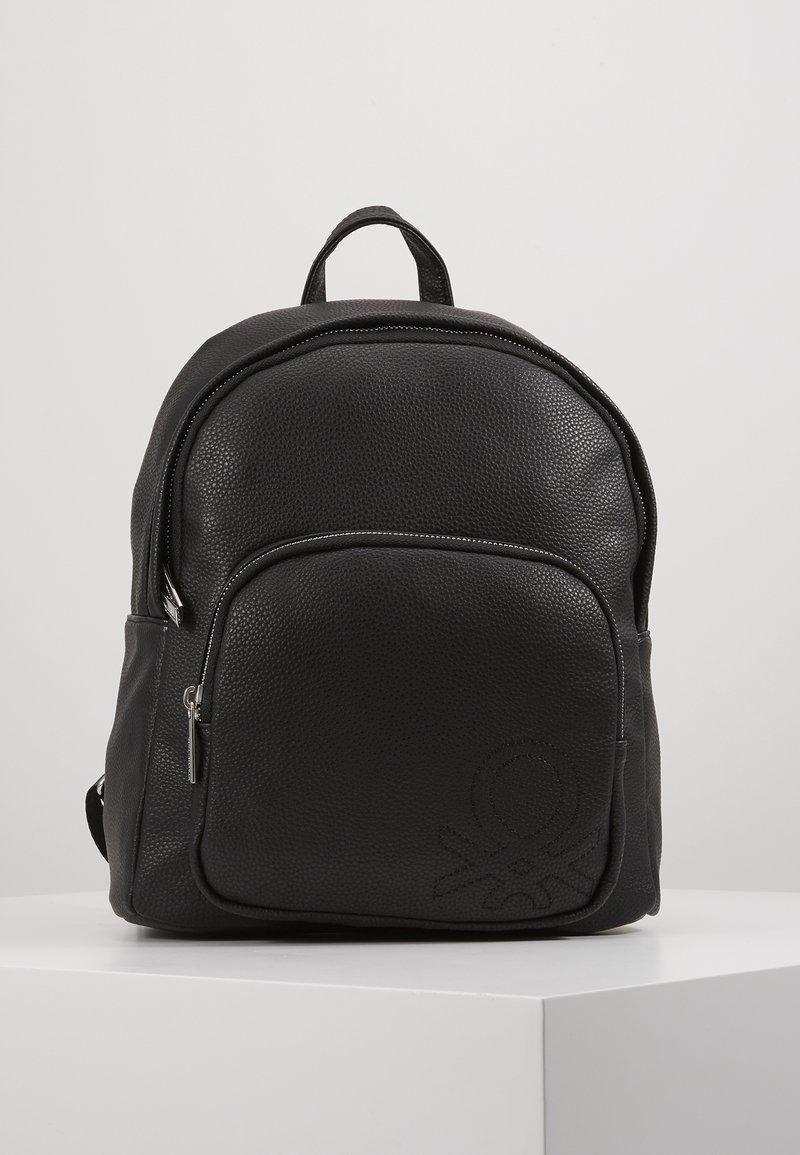 Benetton - Tagesrucksack - black