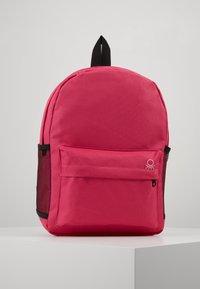 Benetton - KNAPSACK - Rucksack - pink - 0