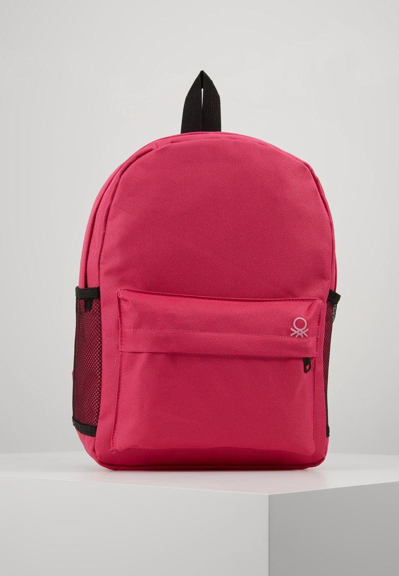 Benetton - KNAPSACK - Rucksack - pink
