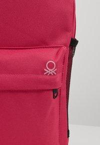 Benetton - KNAPSACK - Rucksack - pink - 2