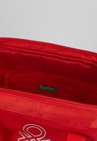 Benetton - BAG - Rygsække - red - 5