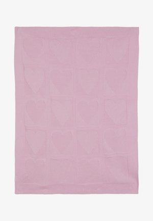 BLANKET - Dětská přikrývka - light pink