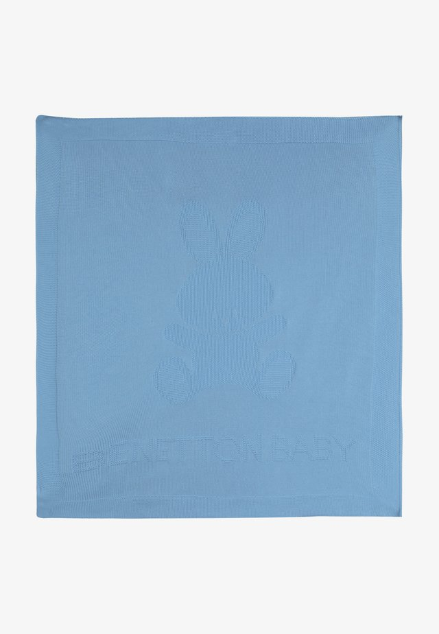BLANKET - Babydecke - light blue