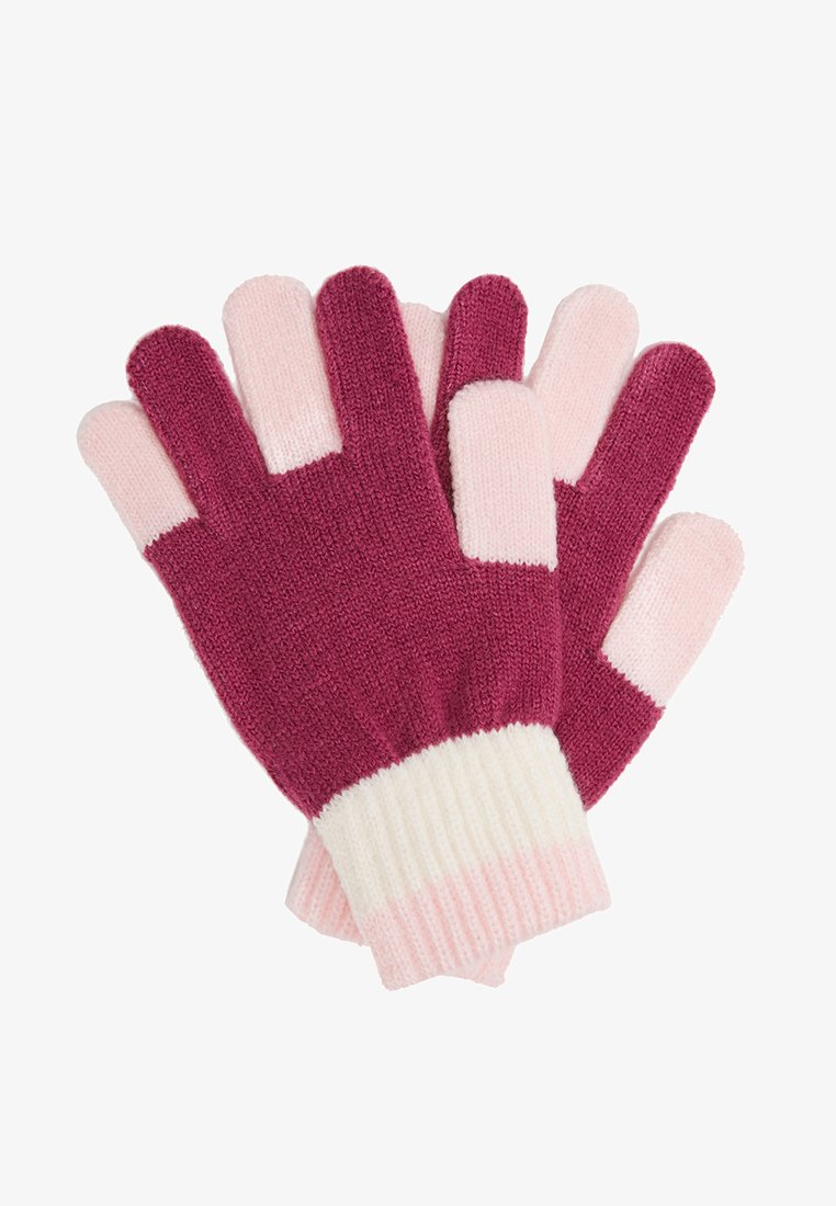 Benetton - GLOVES - Handschoenen - berry