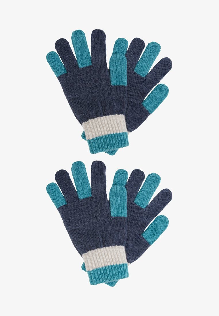 Benetton - GLOVES - Handschoenen - blue/grey