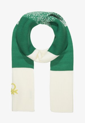 SCARF - Scarf - off-white/green