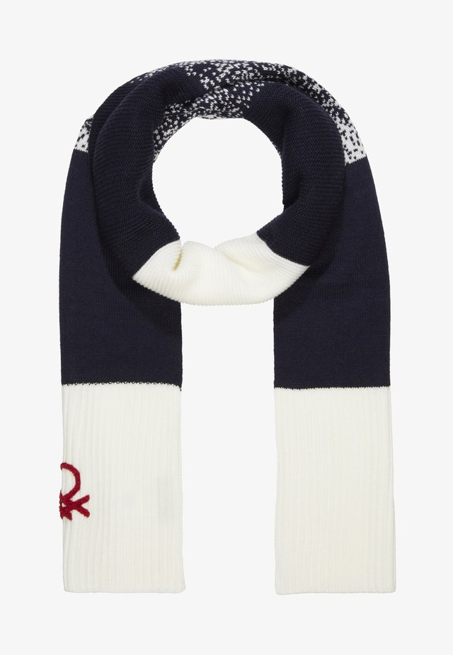 SCARF - Schal - off white/blue