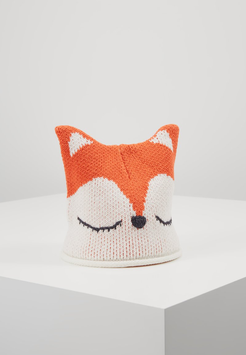 Benetton - HAT FOX - Čepice - orange