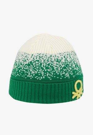 HAT - Muts - offwhite/green