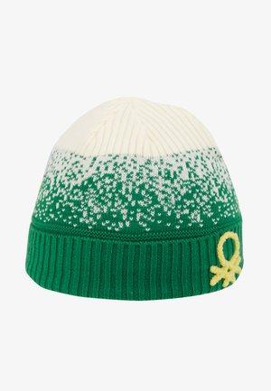 HAT - Bonnet - offwhite/green