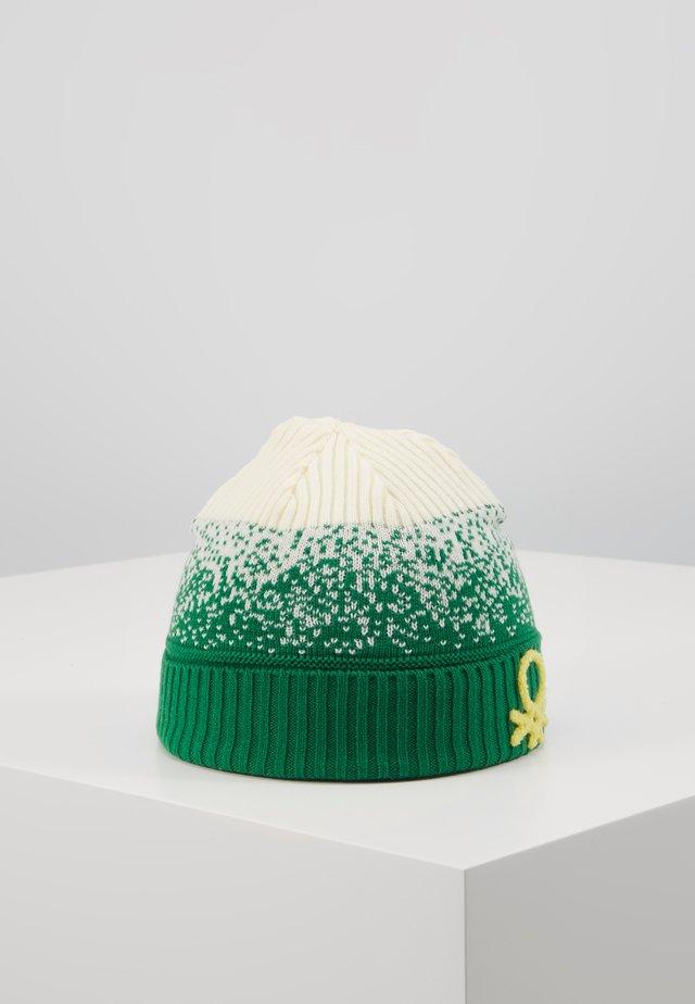 HAT - Čepice - offwhite/green