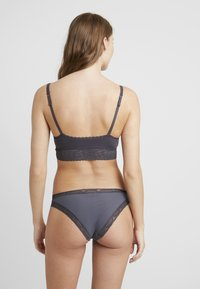 Benetton - BRASSIERE LONG - Triangel BH - dark grey - 2