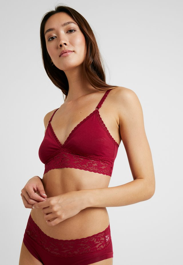 BRASSIERE LONG - Triangel BH - raspberry
