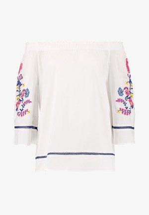 BLOUSE - Pyjamashirt - white