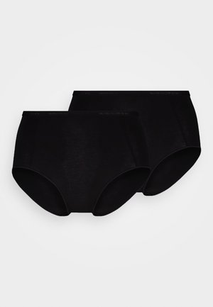 HIGH SIDE COULOTTES LOGO 2 PACK - Boxerky - black