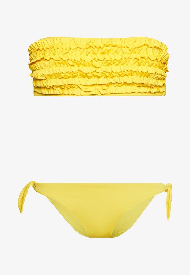 SET - Bikini - yellow