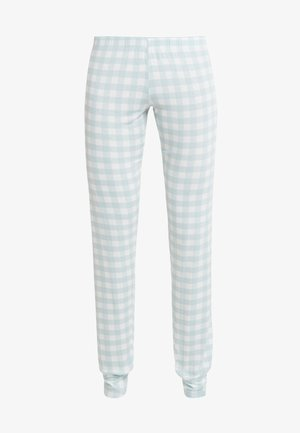TROUSERS - Bas de pyjama - light blue/white