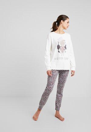 Pyžamová sada - creamy white