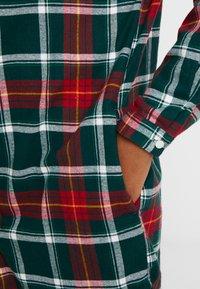 Benetton - LOUNGEWEAR - Noční košile - red - 5