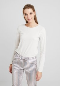 Benetton - WARM LONG SLEEVE HANDFEEL - Pyjamasoverdel - ice - 0