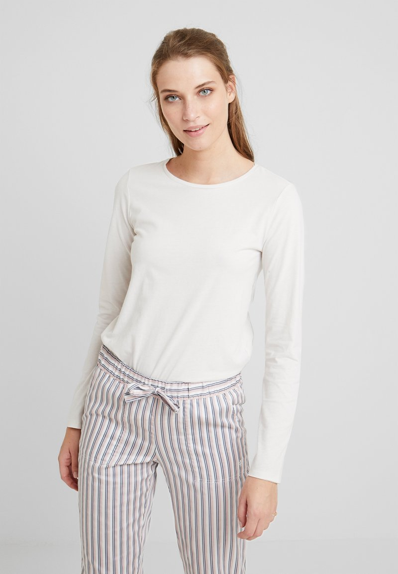 Benetton - WARM LONG SLEEVE HANDFEEL - Pyjamasoverdel - ice
