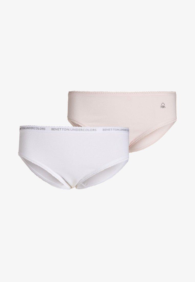 Benetton - 2 PACK - Slip - white