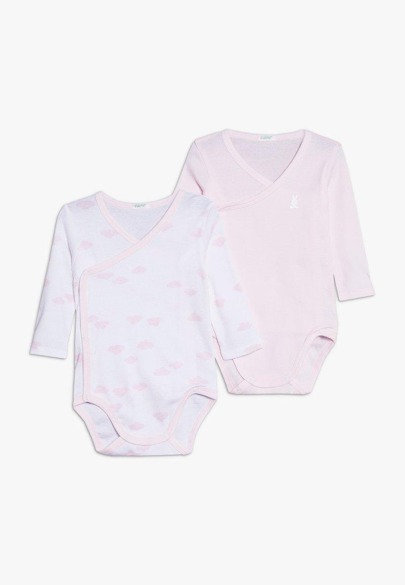 Benetton - BODYSUIT 2 PACK - Body - light pink