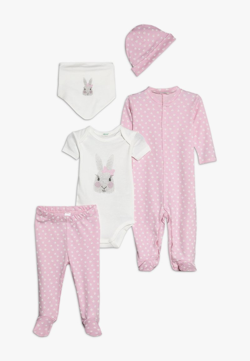 Benetton - NEWBORN SET - Geboortegeschenk - light pink